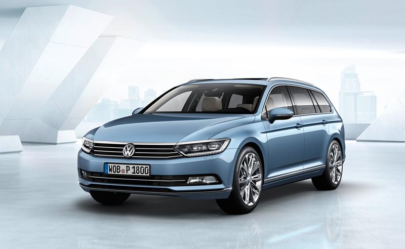 Foto Perfil Volkswagen Passat Familiar 2014
