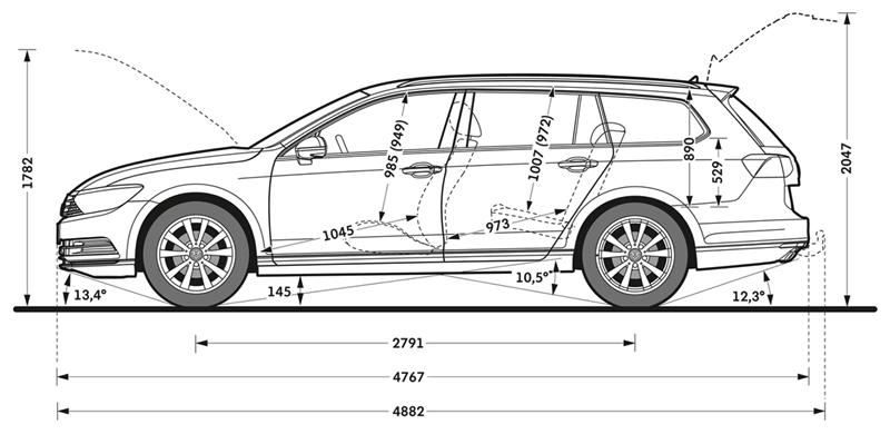 Foto Tecnicas (2) Volkswagen Passat Familiar 2014