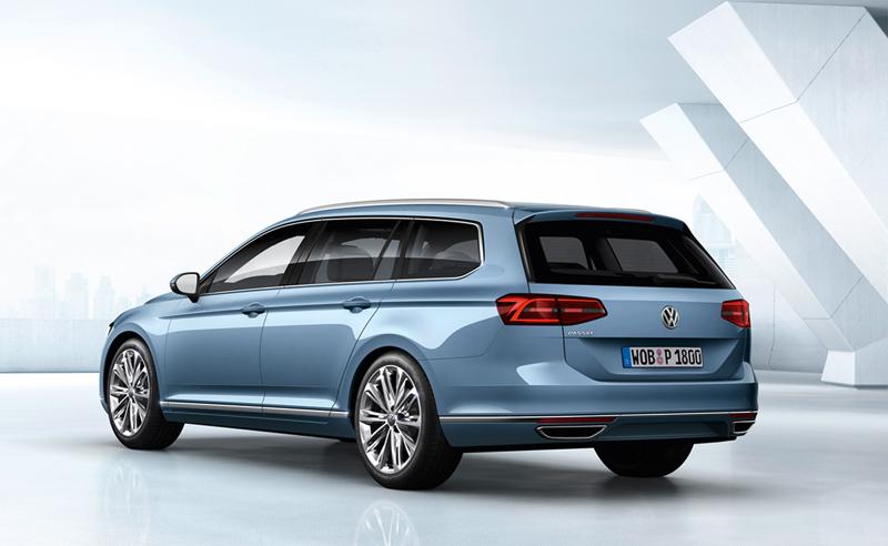 Foto Trasera Volkswagen Passat Familiar 2014