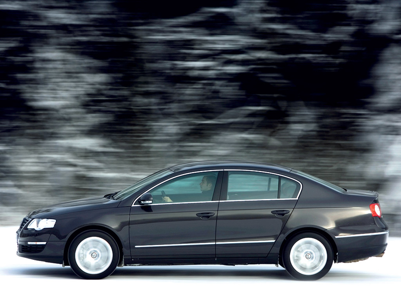 Foto Lateral Volkswagen Passat Sedan 1999
