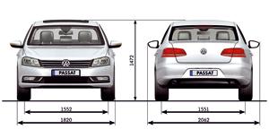 Foto Tecnicas-(3) Volkswagen Passat Sedan 2010
