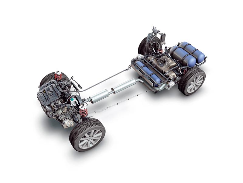 Foto Tecnicas-(7) Volkswagen Passat Sedan 2010