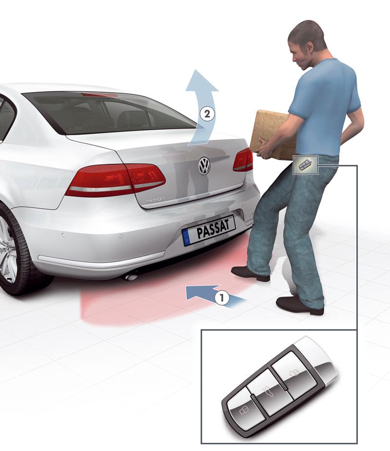 Foto Tecnicas Volkswagen Passat Sedan 2010
