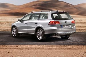 Foto Trasera Volkswagen Passat-alltrack Familiar 2011