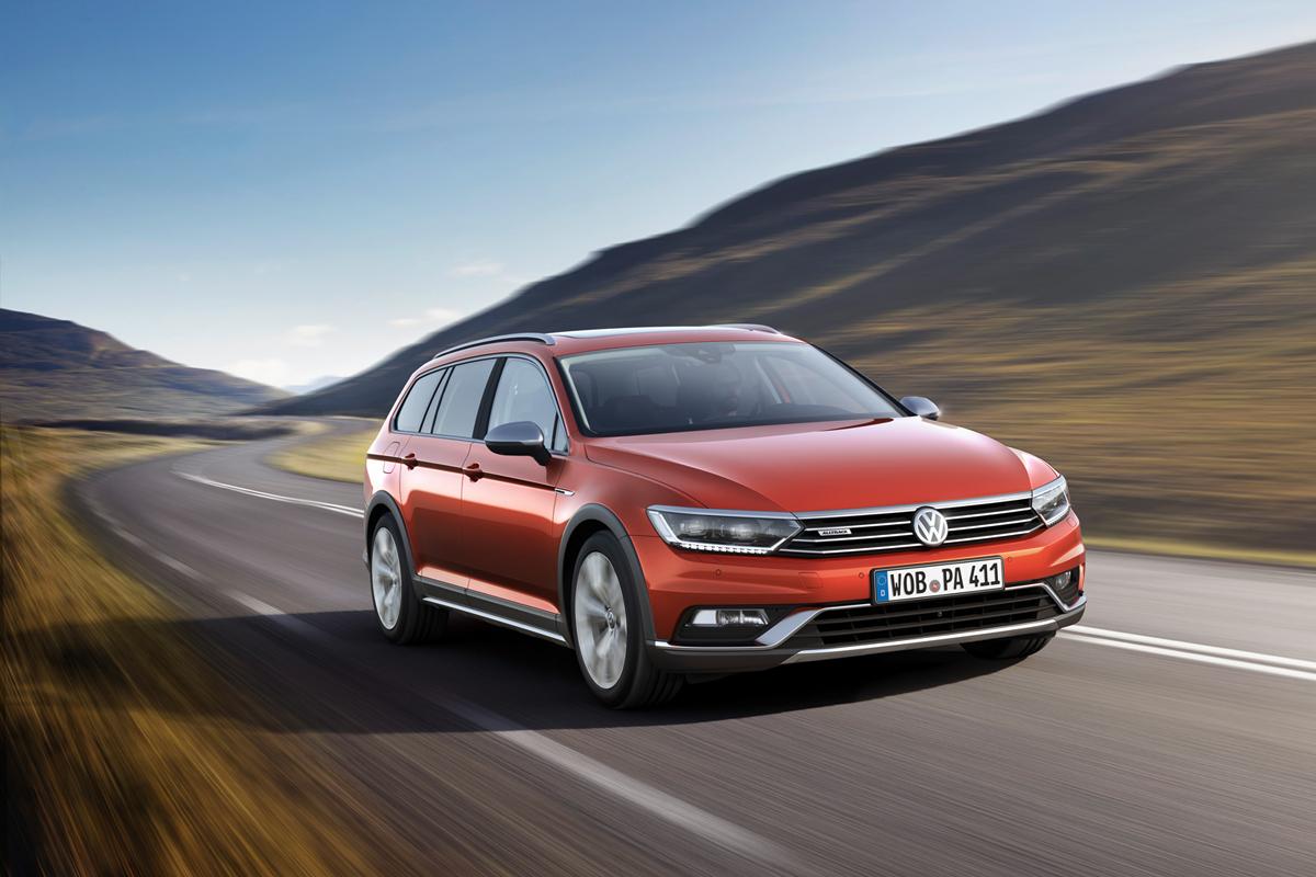 Volkswagen Passat Alltrack en el Salón de Ginebra 2015