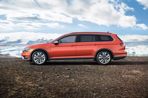Foto Lateral Volkswagen Passat-alltrack Suv Todocamino 2015