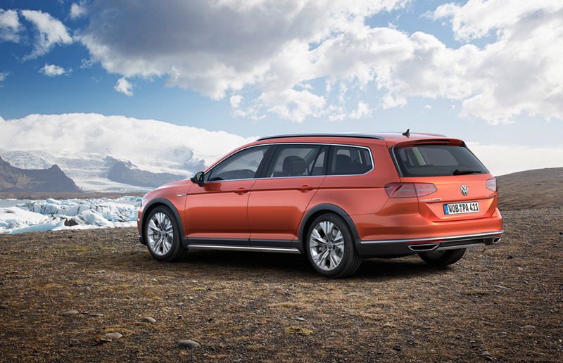 Foto Exteriores Volkswagen Passat Alltrack Suv Todocamino 2015