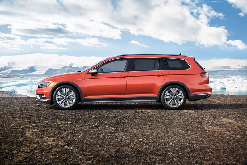 Foto Lateral Volkswagen Passat Alltrack Suv Todocamino 2015