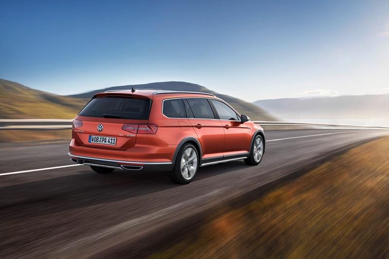 Foto Trasera Volkswagen Passat Alltrack Suv Todocamino 2015