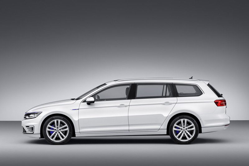 Foto Exteriores Volkswagen Passat Gte Sedan 2014