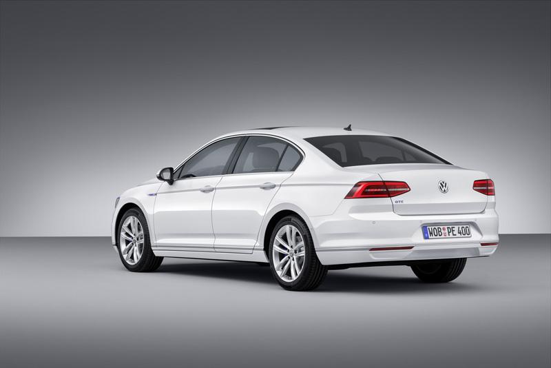 Foto Trasera Volkswagen Passat Gte Sedan 2014