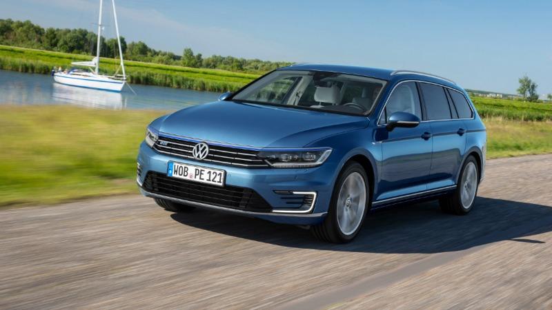 Foto Exteriores Volkswagen Passat Gte Sedan 2016