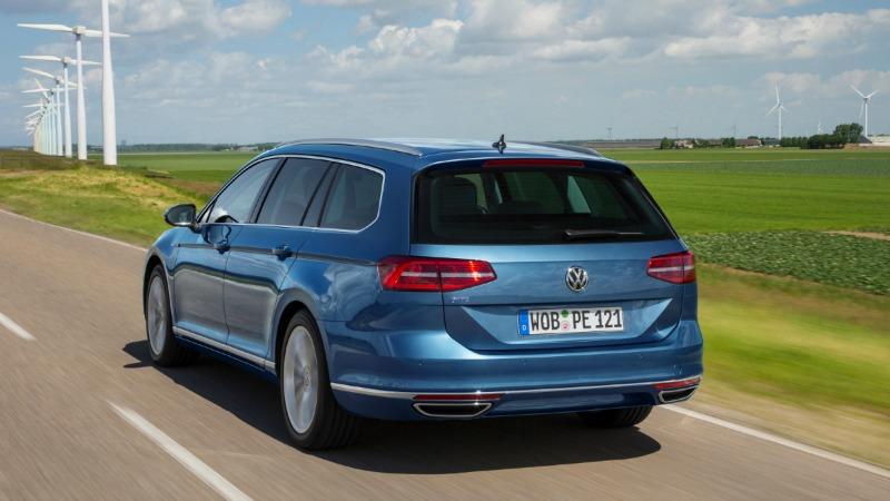 Foto Exteriores (7) Volkswagen Passat-gte Sedan 2016