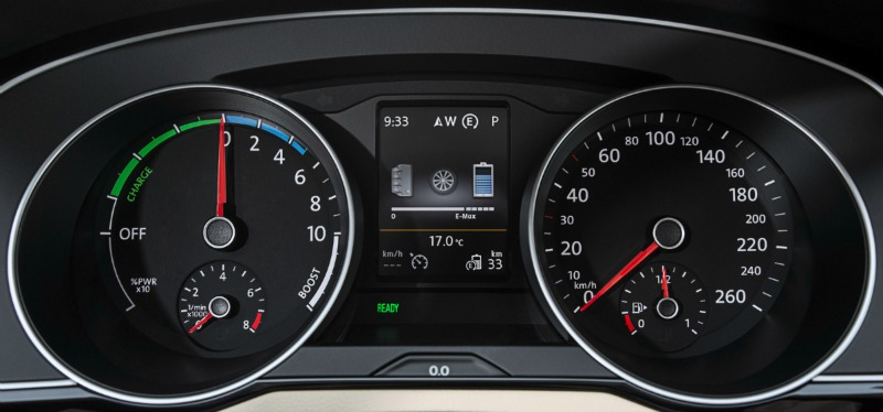 Foto Interiores Volkswagen Passat Gte Sedan 2016