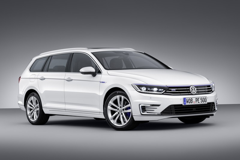Foto Exteriores Volkswagen Passat Gte Prueba Familiar 2016