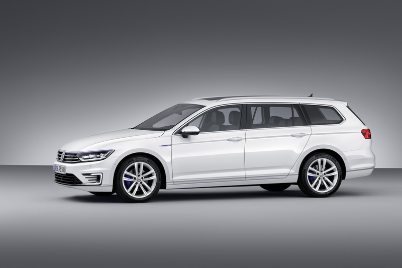 Foto Exteriores (3) Volkswagen Passat-gte-prueba Familiar 2016