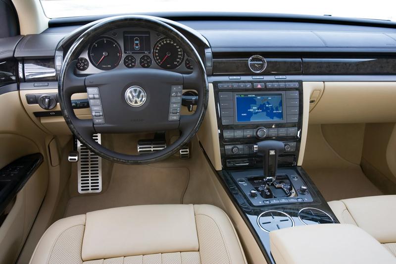 Foto Salpicadero Volkswagen Phaeton Sedan 2007