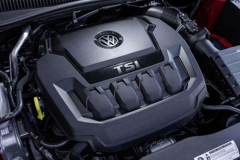 Volkswagen Polo GTI 2017, foto del motor 2.0