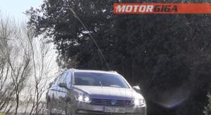 Foto Prueba Dinamica 4 Volkswagen Prueba-volkswagen-passat Familiar 2015