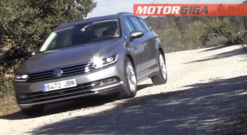 Foto Prueba Dinamica Volkswagen Prueba Volkswagen Passat Familiar 2015