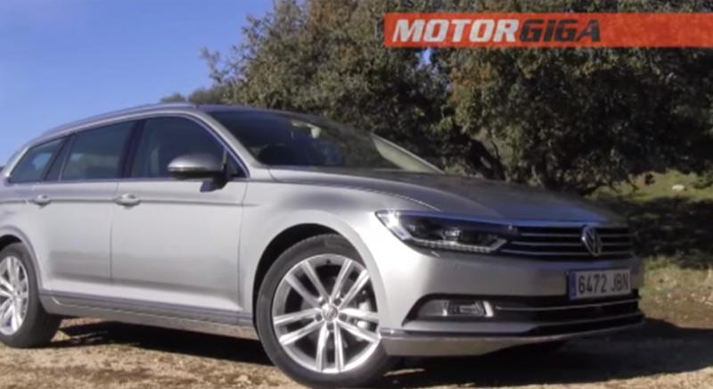 Foto Prueba Plazas Delanteras Volkswagen Prueba Volkswagen Passat Familiar 2015