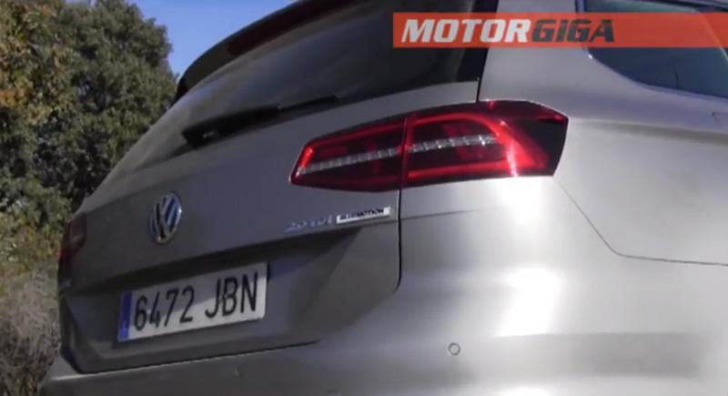 Foto Prueba Plazas Traseras Volkswagen Prueba Volkswagen Passat Familiar 2015