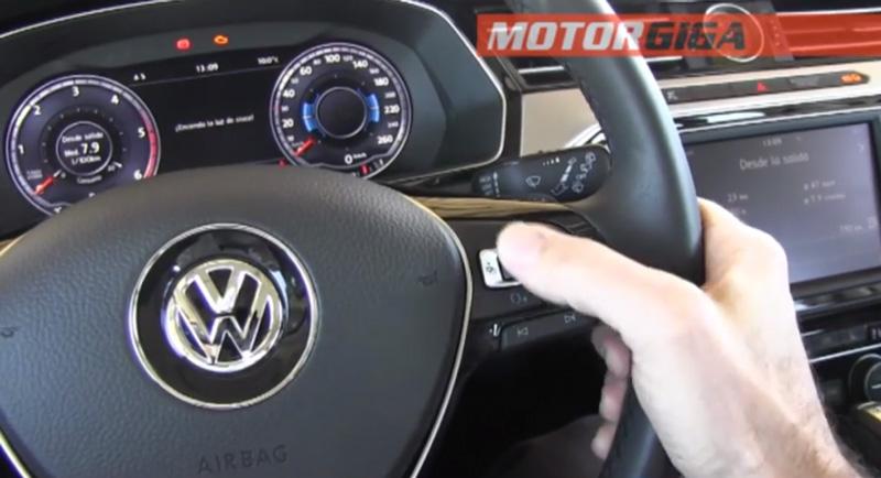 Foto Sistema Infotainment Volkswagen Prueba Volkswagen Passat Familiar 2015