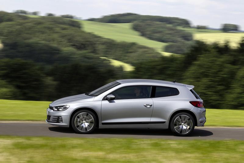 Foto Lateral Volkswagen Scirocco Coupe Dos Volumenes 2014