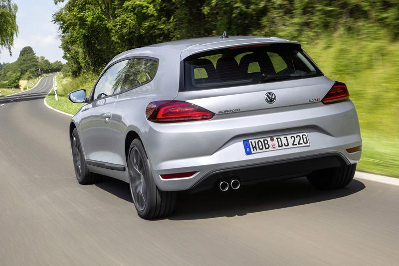 Foto Trasera Volkswagen Scirocco Coupe Dos Volumenes 2014