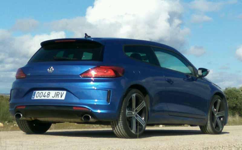 Volkswagen Scirocco R 2014, vientos huracanados