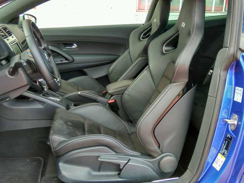Volkswagen Scirocco R 2014, foto interior