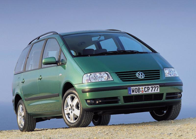 Foto Delantero Volkswagen Sharan Monovolumen 2007