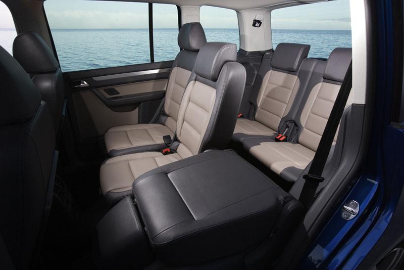 Foto Interiores Volkswagen Sharan Monovolumen 2007