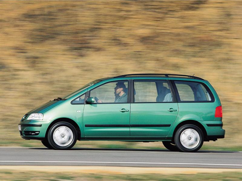 Foto Perfil Volkswagen Sharan Monovolumen 2007