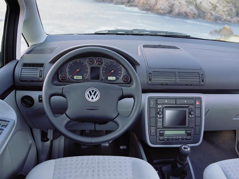 Foto Salpicadero Volkswagen Sharan Monovolumen 2007