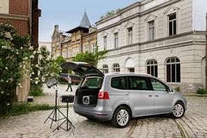 Foto Exteriores-(10) Volkswagen Sharan Monovolumen 2010