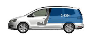 Foto Tecnicas-(28) Volkswagen Sharan Monovolumen 2010