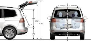 Foto Tecnicas-(29) Volkswagen Sharan Monovolumen 2010