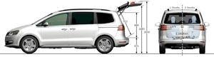 Foto Tecnicas-(30) Volkswagen Sharan Monovolumen 2010