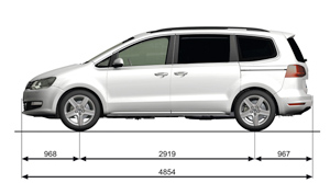 Foto Tecnicas-(32) Volkswagen Sharan Monovolumen 2010