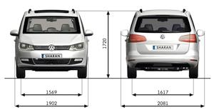 Foto Tecnicas-(33) Volkswagen Sharan Monovolumen 2010