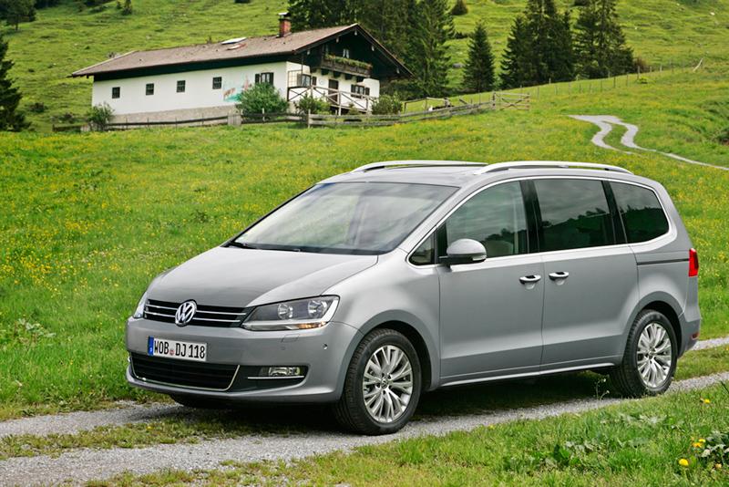 Foto Exteriores Volkswagen Sharan Monovolumen 2010
