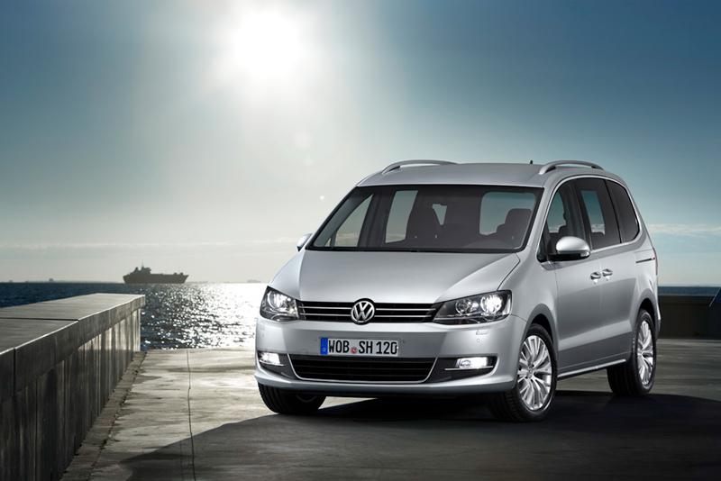 Foto Frontal Volkswagen Sharan Monovolumen 2010