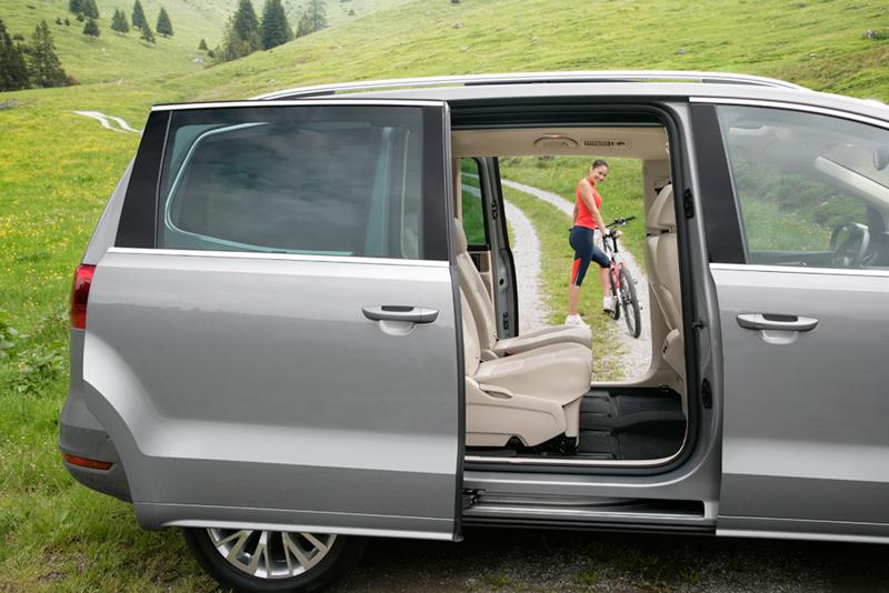 Foto Interiores Volkswagen Sharan Monovolumen 2010