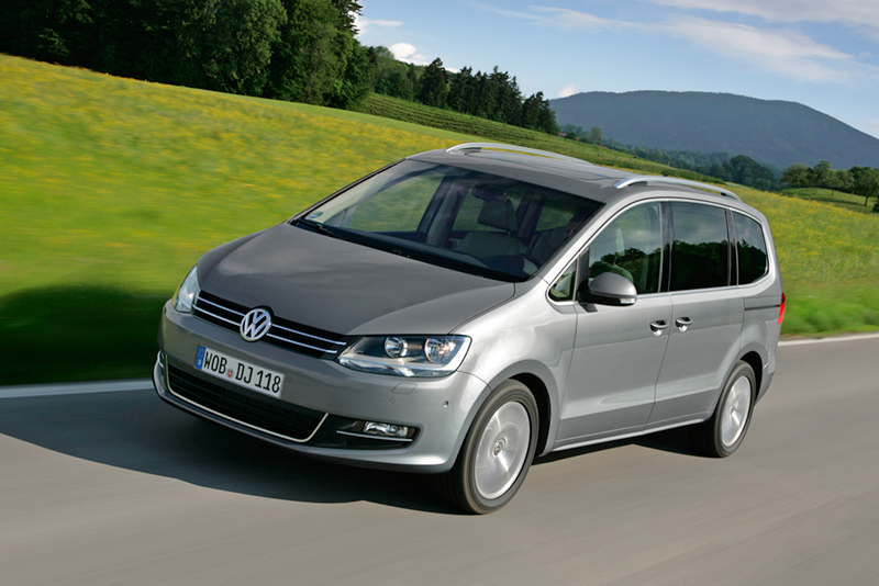 Foto Lateral Volkswagen Sharan Monovolumen 2010