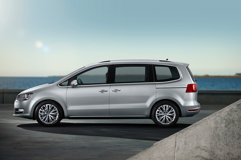 Foto Perfil Volkswagen Sharan Monovolumen 2010