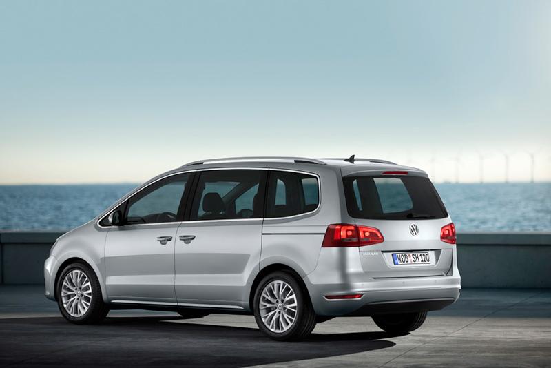 Foto Trasera Volkswagen Sharan Monovolumen 2010