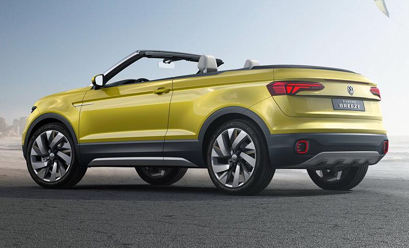 Foto Exteriores Volkswagen T Cross Breeze Concept Prototipo 2016