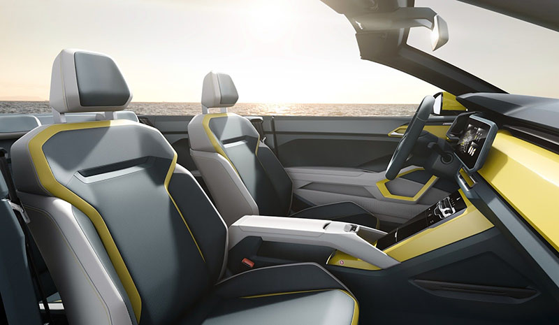 Foto Interiores Volkswagen T Cross Breeze Concept Prototipo 2016