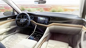 Foto Salpicadero Volkswagen T-prime-concept-gte Concept 2016